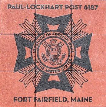 Engraved Brick array Veterans