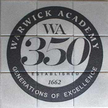 Engraved Bricks Array Warwick Academy
