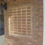 Engraved Bricks Wall