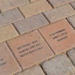 St Emna Engraved Bricks