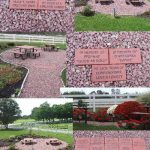 Engraved Bricks for Memorial Garden
