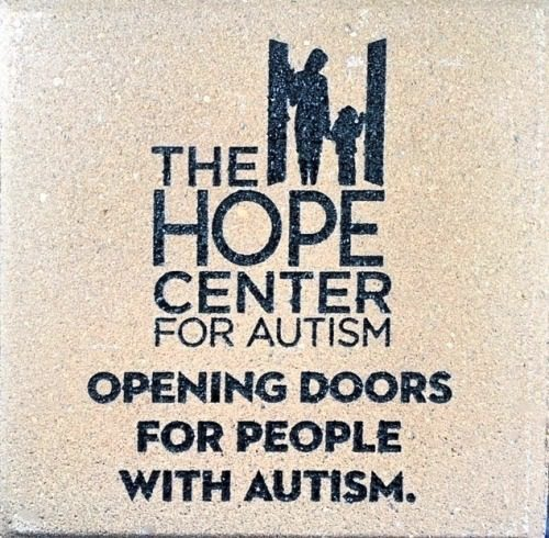 Brick Engraving Fundraiser Autism project