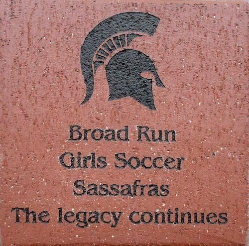 Brick Fundraising Soccer logo