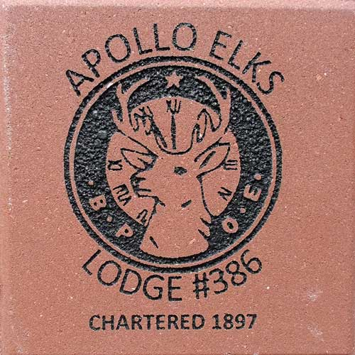 Brick Engraving Lodge