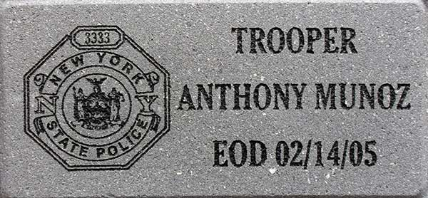 Commemorative Engraved Brick