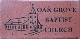 Engraved Brick Church Fundraising