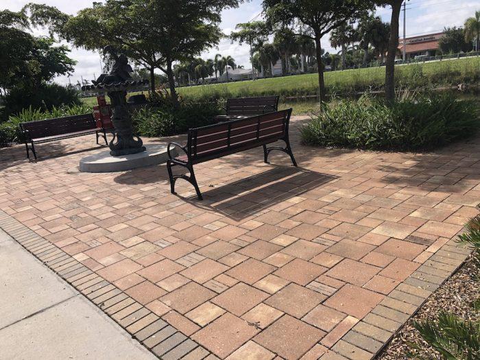 Engraved Bricks campaign Palm River Park