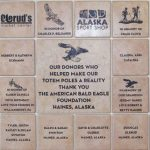 Engraved Tiles Wall The American Bald Eagle Foundation,