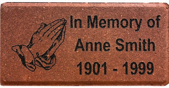 Engraved Memorial Brick