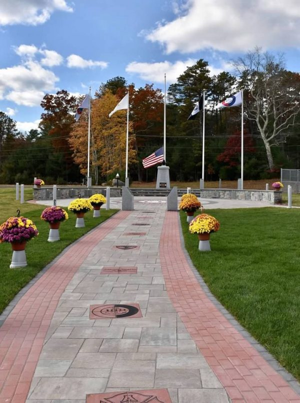 Memorial Bricks Pathway Fire Chiefs