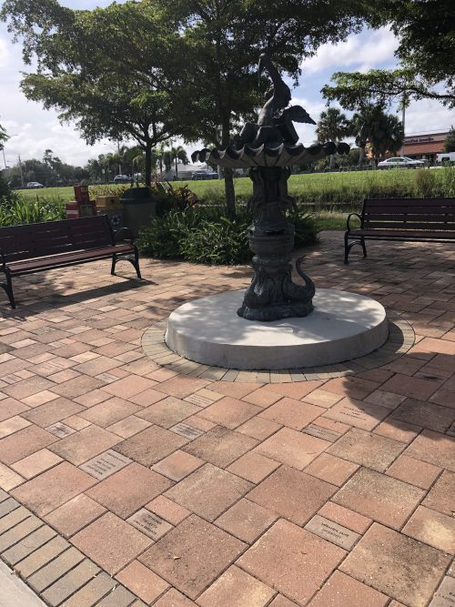 Engraved Bricks campaign for Park