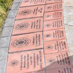 Memorial Engraved Bricks Pathway