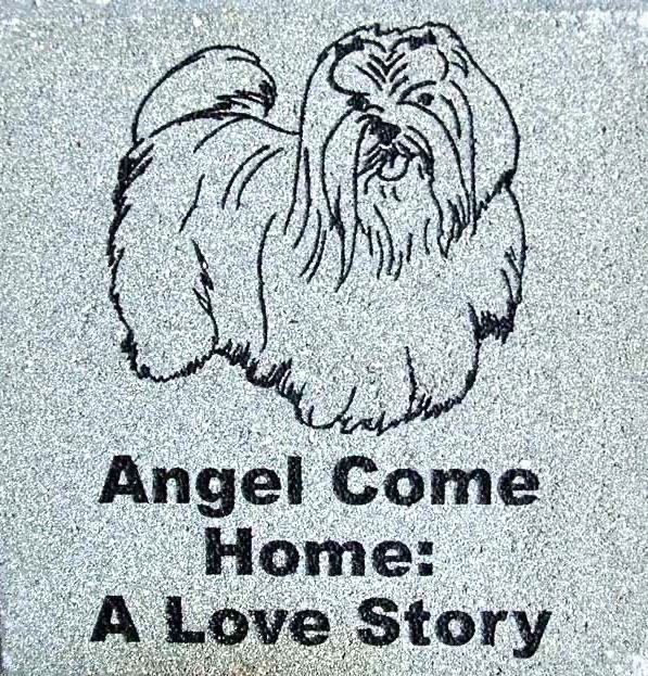 Engraved Brick Pet Memorial Dog