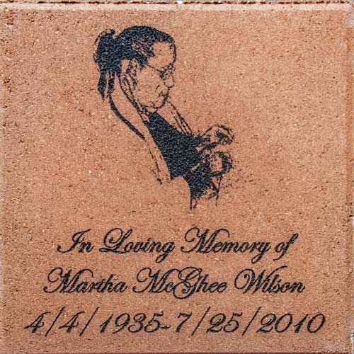 Memorial Engraved Brick