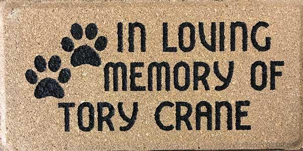 Pet Memorial Brick