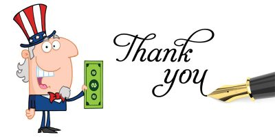 Tax Exemption Acknowledgement Letters: A great way to give back to your brick donors.