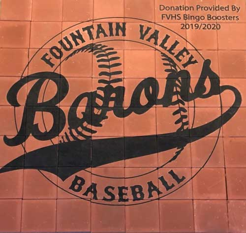 Brick Fundraising Baseball