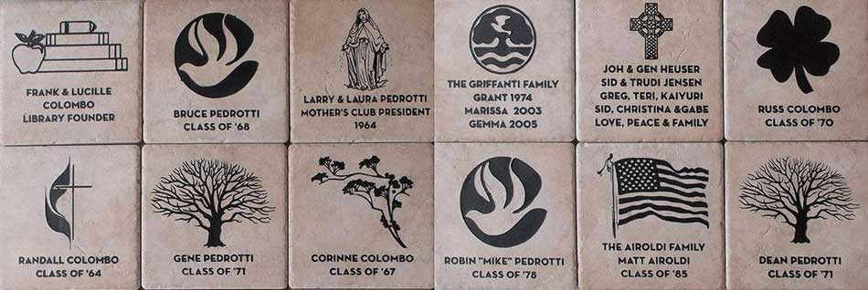ENGRAVED WALL TILE