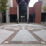 Engraved Brick project Church Entrance