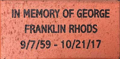 engraved brick pricing