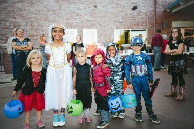 "5 FUN WAYS TO INCORPORATE""BRICK OR TREATING""INTO YOUR BRICK FUNDRAISING"