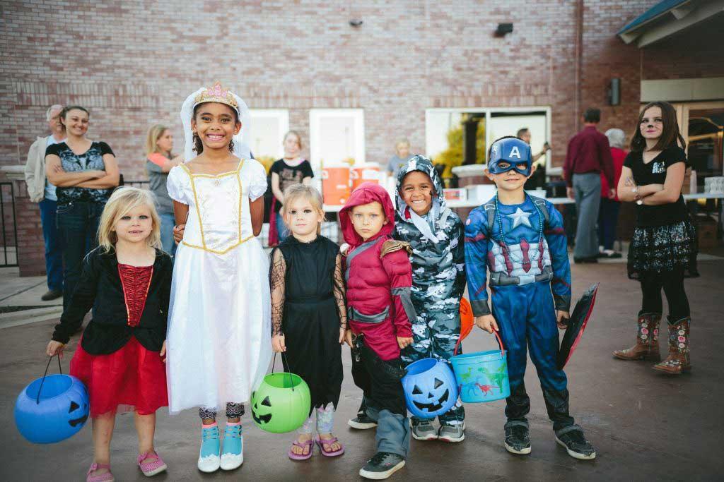 Halloween Brick Fundraiser