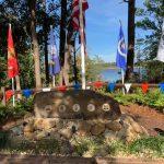 Brunswick Riverwalk Veterans Memorial dedication