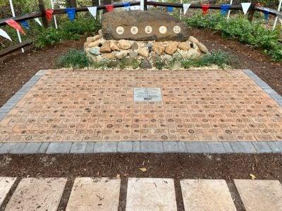 Brunswick Riverwalk Veterans Memorial Bricks dedication