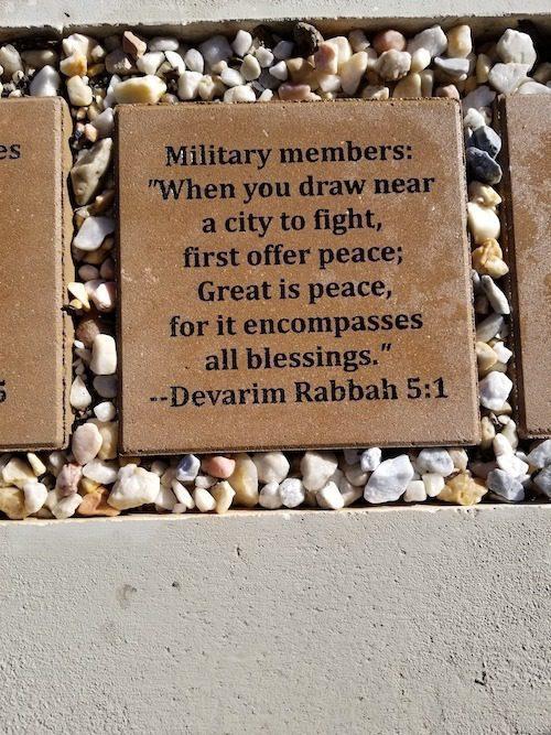 Engraved Bricks Memorial