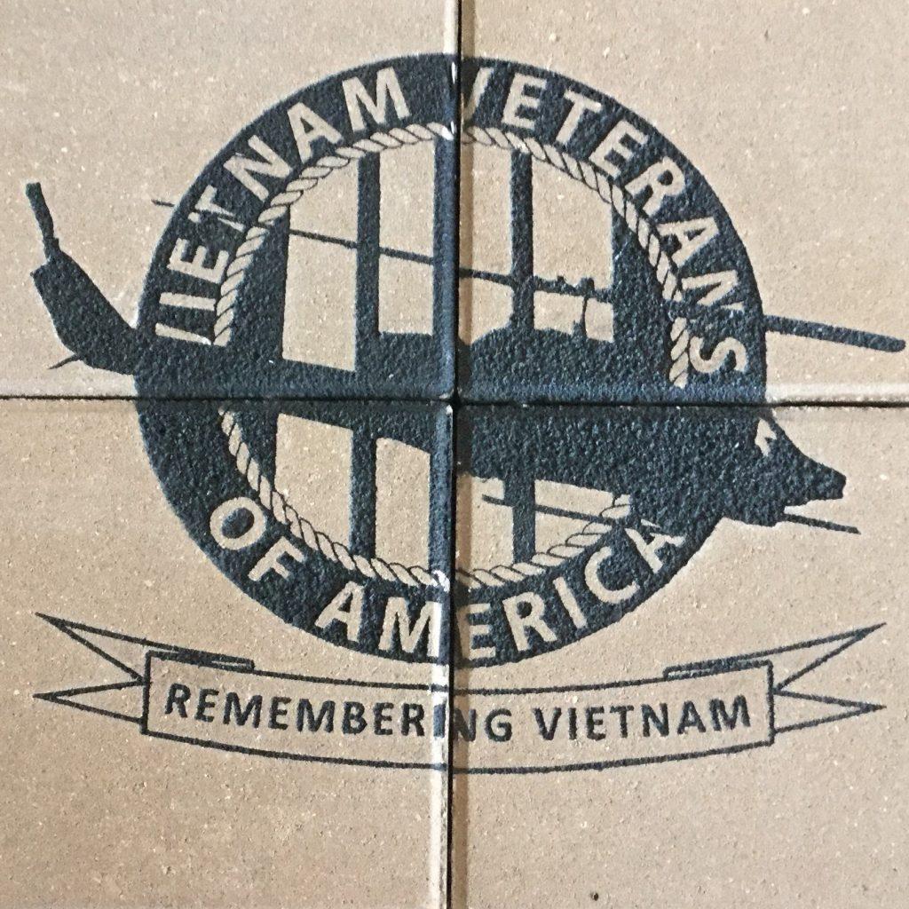 Engraved Brick Array Vietnam