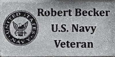 Commemorative brick Veteran US Navy