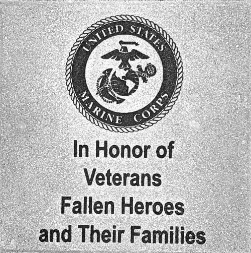 Memorial Brick Marine Corps