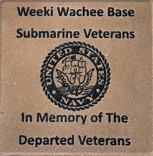 Veteran Memorial Brick Navy