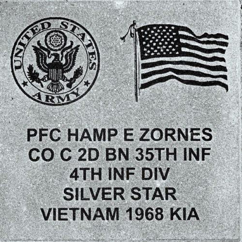 Vietnam Memorial Brick
