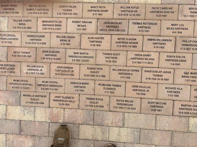 Brick Fundraising Memorial