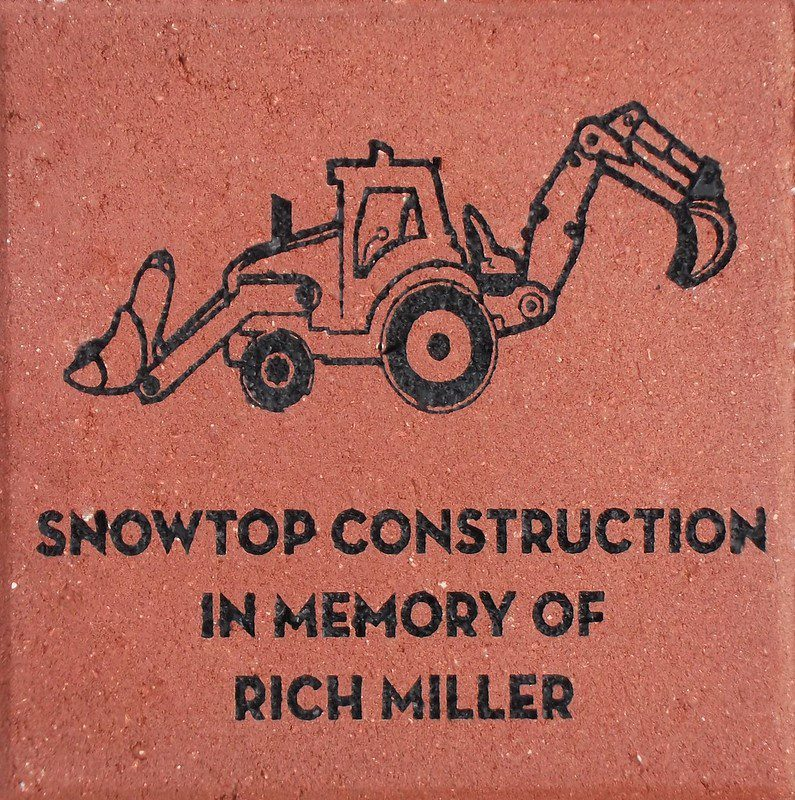 Engraved Memorial Brick Special Art