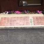 Veterans Memorial Bricks Wall
