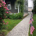 Engraved Bricks walkway Historical Society