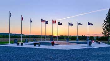 engraved brick veterans memorial