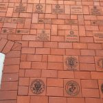 Memorial bricks for Veterans