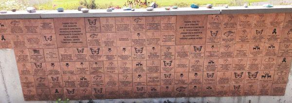 Garden of Hope Tile fundraising