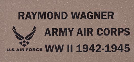 Engraved-Memorial-Tile-US Air force